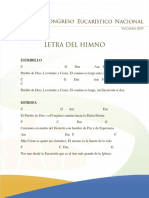 VII CEN Letra Del Himno