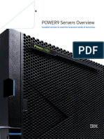 Power9 Servers Overview 52015752USEN