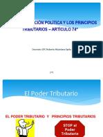 Constitucion Política y Poder Tributario