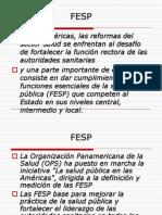 La Salud Pública FESP
