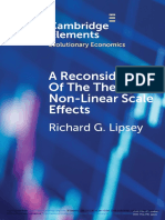A Reconsideration of the Theory of Non-Linear Scale Effects