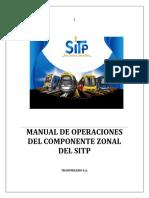 00 Manual de Operaciones Sitp (Zonal) v11 (1) (1)
