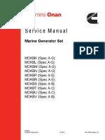 Cummins Onan mdkbm Service Manual