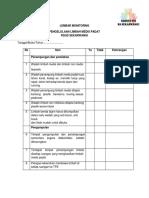Checklist Pengelolaan Limbah Padat