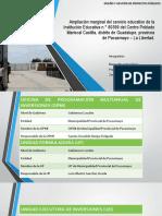 Ampliación marginal del servicio educativo de la Institución Educativa n.° 80399 del Centro Poblado Mariscal Castilla, distrito de Guadalupe, provincia de Pacasmayo – La Libertad