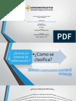 Definicion y Clasificacion de Un Sistema de Informacion