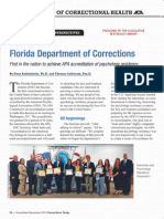 FL DOC, First in the Nation to Achieve APA Accreditation