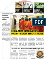 Legislation Introduced to Protet Health Benefits in Jail