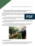 El Agro Con Una Tasa de Crecimiento Anual de 3%, El Perú Se Convierte en Proveedor Mundial de Alimentos