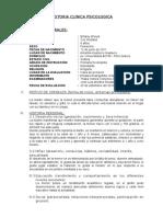 Historia Clinica Psicologica