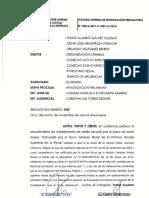 Dictan impedimento de salida del país contra fiscal Tomás Gálvez