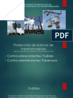 Selección de protecciones para un banco de transformación en MT