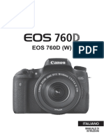 EOS 760D Instruction Manual IT