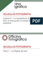 02 - Inquadrature La Regola Dei Terzi Le Linee Guida e Le Scelta Della Posizione