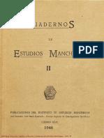 Cuadernos de Estudios Manchegos. 1948, n.º 2.