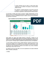 Taller Excel 2016