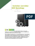 Cómo Instalar Servidor NAS Synology