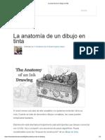 La Anatomía de Un Dibujo en Tinta