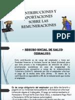 Contribuciones, Aportaciones y Agentes de Retencion