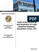 Audit of DPP