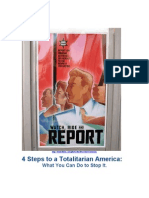 4 Steps to a Totalitarian America