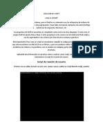 Creacion script en linux