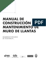 Manual de Construcción y Mantenimiento de Muro de Llantas en Barrios Populares de Tegucigalpa Es