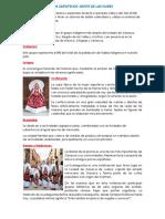 Monografía Los Zapotecas