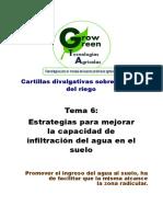 6. El Agua en El Suelo (Estrategias Para Mejorar La Capacidad de Infiltración Del Suelo)