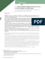 Melanoma Cutâneo - Estudo Epidemiológico de 30 Anos Em