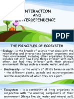Interact and Interdependence