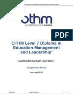OTHM L7 DEML Assignment Briefs_April 2019_V01[1142]