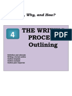 4 Outlining