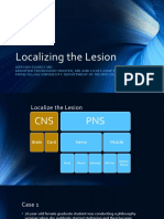 localizing the lesion