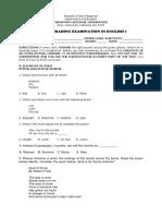 Summative Test Eng7