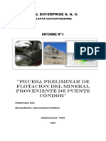 Informe 001 Je-Al Enterprises Inc s.a.c.