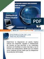 U4 Distribucion de Planta 2013