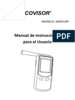 Mercury Manual Spanish