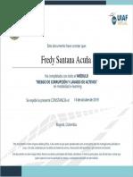 Freddy Santana Diploma