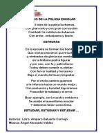 Himno de La Policia Escolar