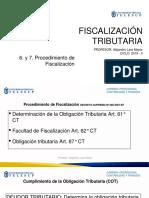 6. y 7. Procedimiento de Fiscalizacion