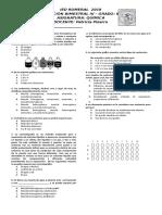 Evaluación 4P Química 6o.