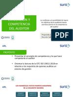 Competencia y Evaluación Del Auditor