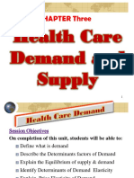 3 Demand and Supply for Health Care