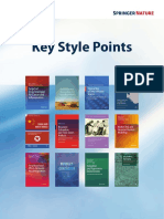 Springer - Key Style Points