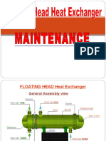 Floating Head Heat Exchanger-maintainance