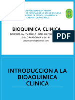 Introduccion a La Bioaquimica Clinica