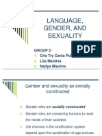 Language, Gender and Sexuality