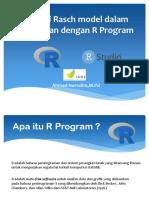 Workshop Aplikasi Rasch model dalam Pendidikan dengan R Program.pptx