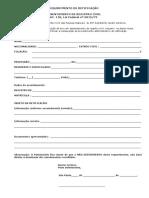 REQUERIMENTO Retificação de registro civil